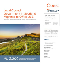 Local government in Scotland modernizes to Office 365