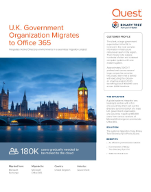 UK Government syncs Exchange user mailboxes in preparation for migration to Office 365